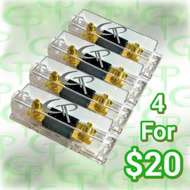 4 Fuse Blocks w/ Fuses