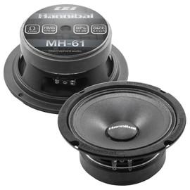 "Hannibal MH-61   6.5"" Mid-Range Speakers (Pair)"