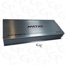 Avatar ATU-2000.1D | 2000 Watt Power Amplifier FREE Dual Inputs