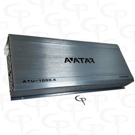 Avatar ATU-1000.4 | 600 Watt 4-channel Amplifier