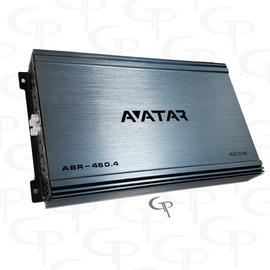 Avatar ABR-460.4   460 Watt 4-channel Amplifier