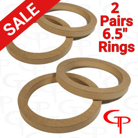 """2 Pair GP 6.5"""" Speaker Rings"""