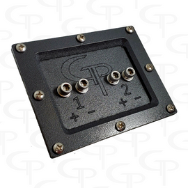 *GP 2 Spot Speaker Enclosure Terminal Stainless Steel Hardware