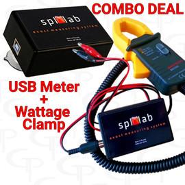 *COMBO DEAL: SPL LAB USB METER + WATTAGE CLAMP