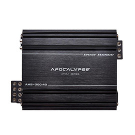 Apocalypse AAB-300.4D Atom * FREE 1/0 to 4 AWG REDUCERS