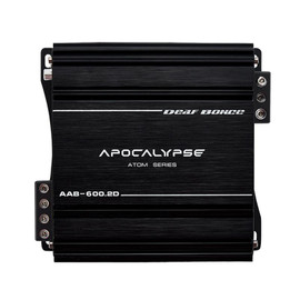 Apocalypse AAB-600.2D Atom * FREE 1/0 to 4 AWG REDUCERS