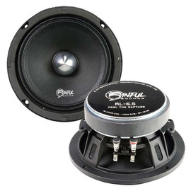 Sinful Sounds RL-6.5 PRO SPEAKERS (1 PAIR)