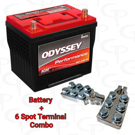 *SALE* ODYSSEY Performance Series Battery ODP-AGM35 w/ FREE GP Machined Terminals
