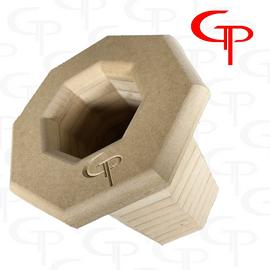 """GP 4"""" DIY Stack Fab Octa-port"""