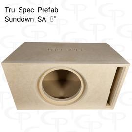 "TRU SPEC Prefab Single 8"" Subwoofer Enclosure Sundown SA"