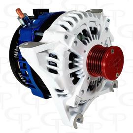 FORD F150 4.2l 4.6L 5.4l -ALL YEARS- 370 AMP TEAM GP High Output Alternator