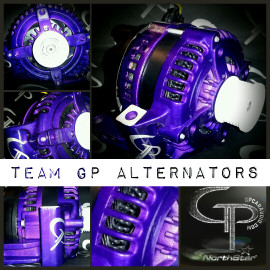 KIA RIO 1.6L -2009- 200 AMP TEAM GP Alternator