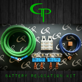 Battery Relocation Kit 2/0 AWG OFC GP Audio MADE IN USA