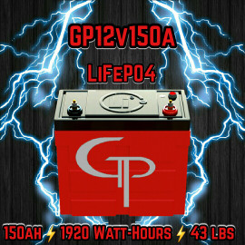 GP Arcane 150AH LiFPO4