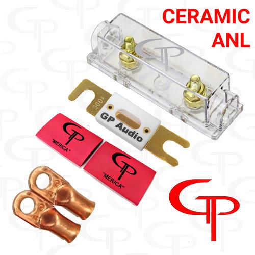 Ceramic GP ANL FUSE &  Block W/ 2 LUGS AND SHRINK