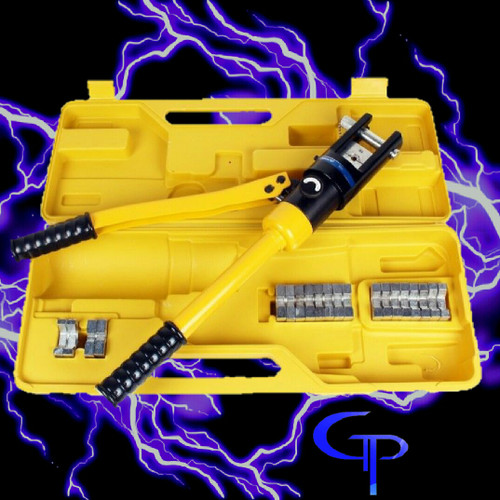 *16 Ton Hydraulic Wire Crimper 11 Dies