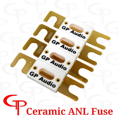4 for $26.99 GP Ceramic ANL Fuses