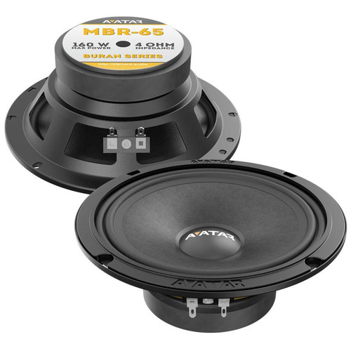 "Avatar MBR-65 | 6.5"" Mid-Range Speakers (Pair)"