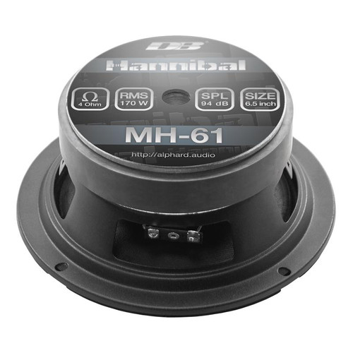 "Hannibal MH-61 | 6.5"" Mid-Range Speakers (Pair)"