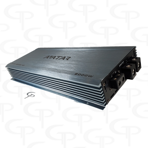 Avatar ATU-2000.1D | 2000 Watt Power Amplifier FREE Dual Inputs