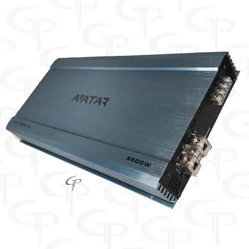 Avatar ATU 3500.1D | 3500 Watt Power Amplifier FREE Dual Inputs