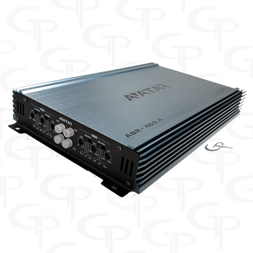 Avatar ABR-460.4 | 460 Watt 4-channel Amplifier