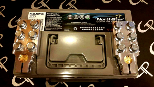 Northstar AGM65 w/ SAE Ring Terminal Style Terminals