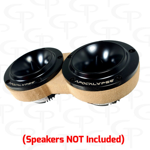 GP Dual Super Tweeter Door Pod Baffle (Pair)
