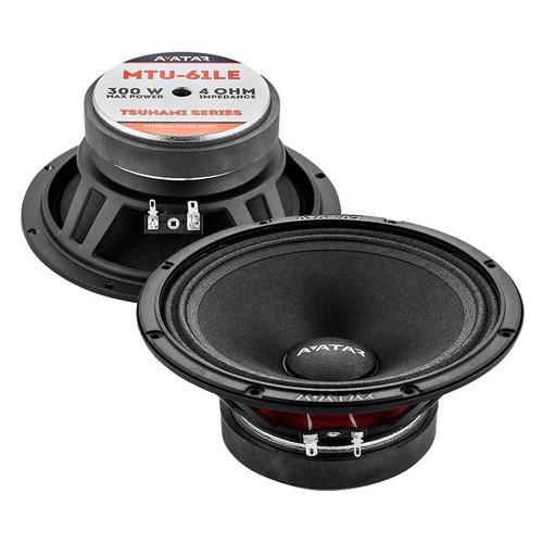 """Avatar MTU-61LE 6.5"""" Pro Audio Speakers (Pair)"""