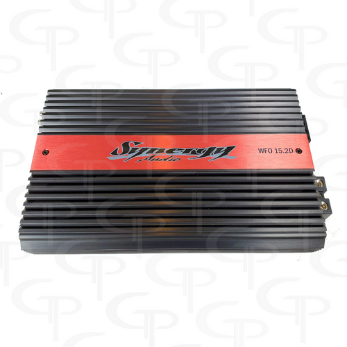 Synergy WFO 15.2D 2 CHANNEL (1500w x  2) FREE DUAL INPUTS