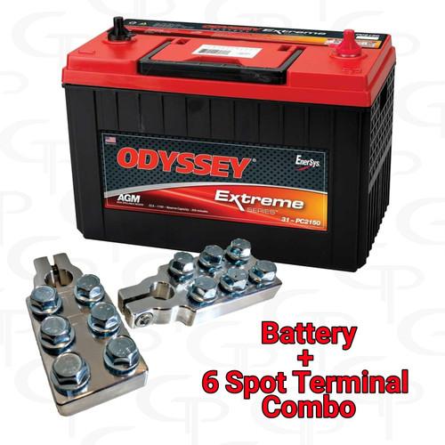 Odyssey Extreme ODX AGM31 w/ GP Machined Terminals