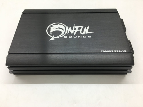 Sinful Sounds FAMINE 800.1D PREORDER
