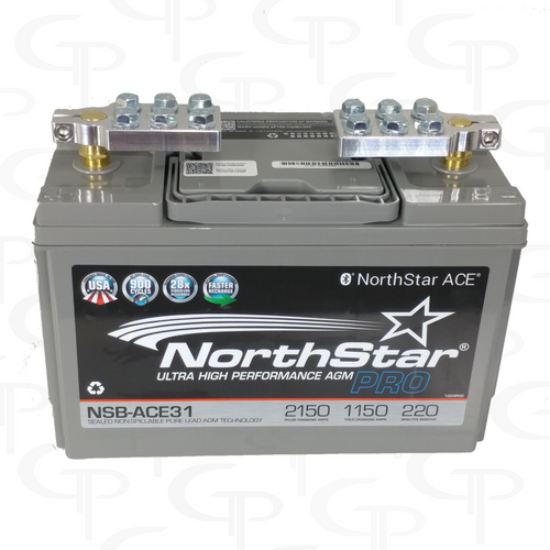 Northstar AGM31 w/ SAE Ring Terminal Style Machined Terminals