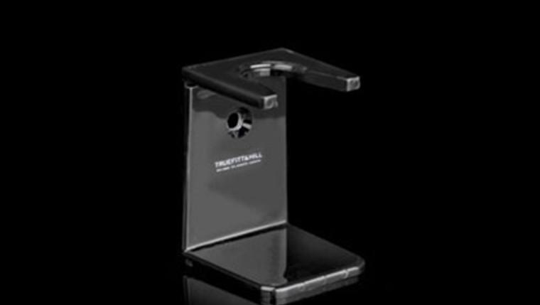 Stand: Shaving Badger Brush Stand (Black) Bath & Shower