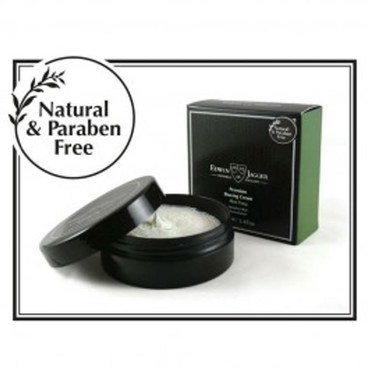 Aloe Vera 99.9% Natural Shaving Cream 100ml by Edwin Jagger