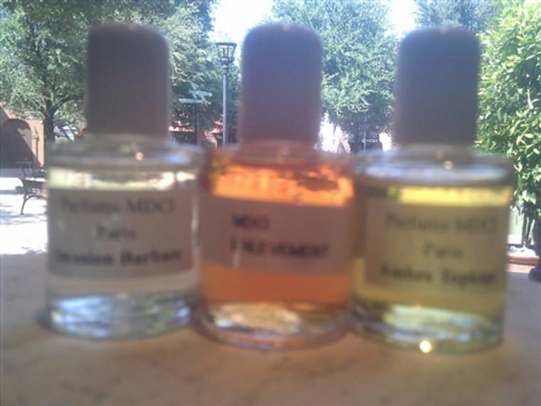 1 MDCI Sample Set 3 Mini Parfums EDP 12ml Men