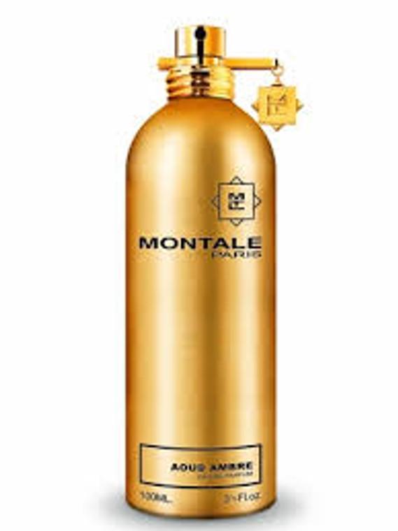 Aoud Ambre Eau de Parfum Spray 100ml by Montale.
