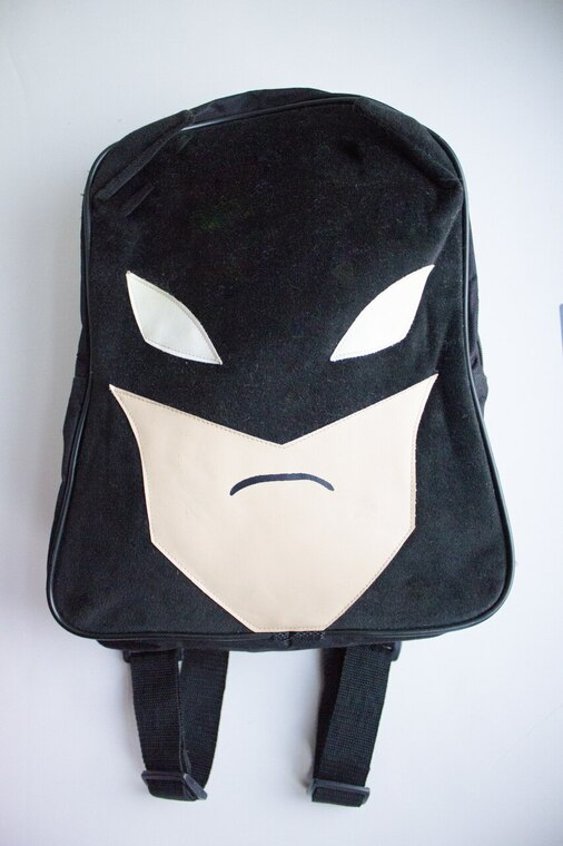 VELVET BATMAN BACKPACK