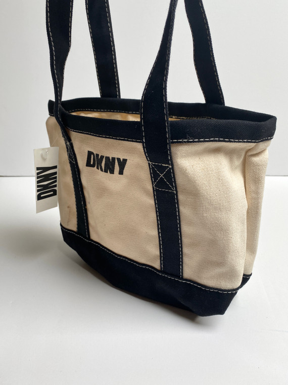 VTG DKNY HANDBAG MINI TOTE BAG