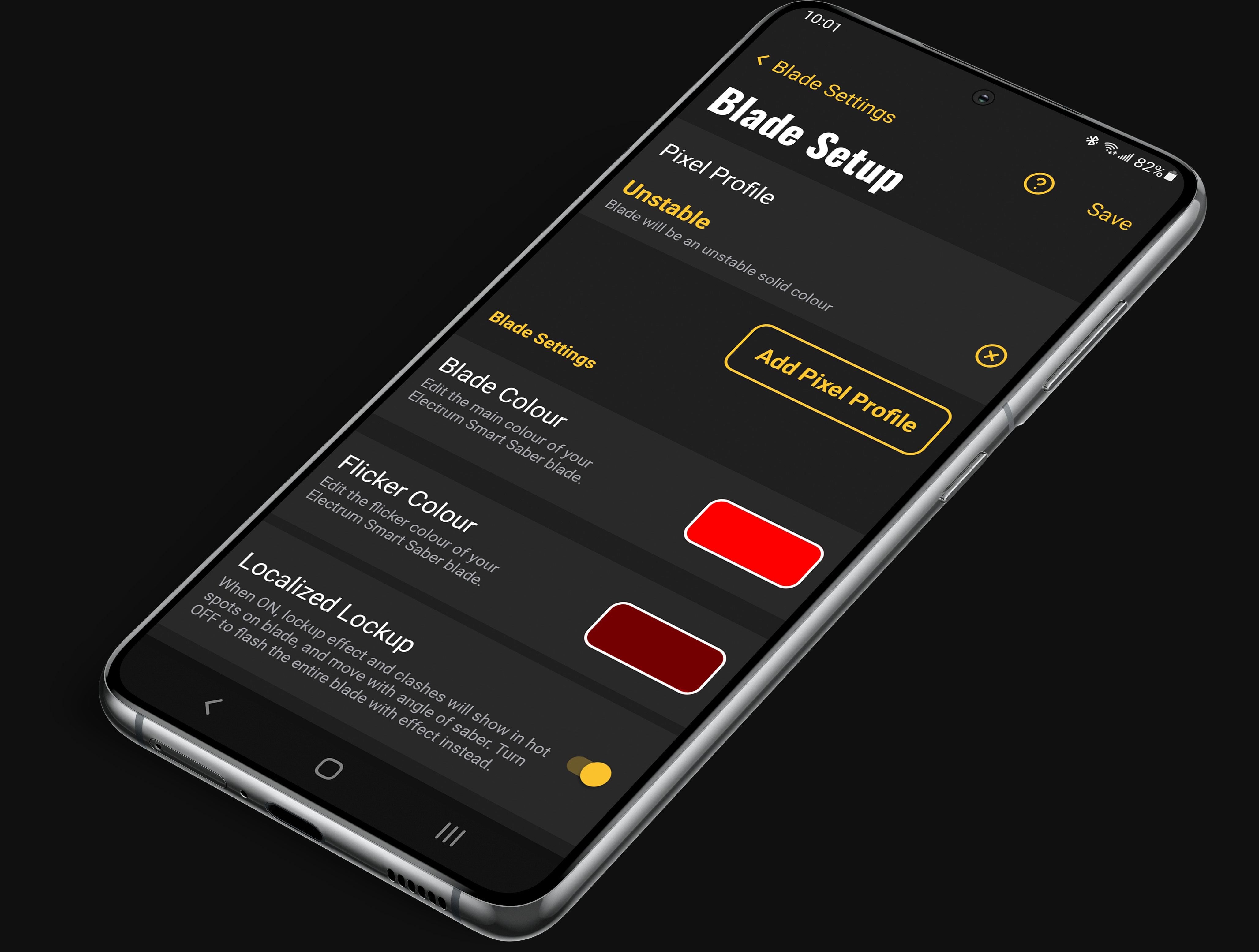 Blade Styles Unity II App
