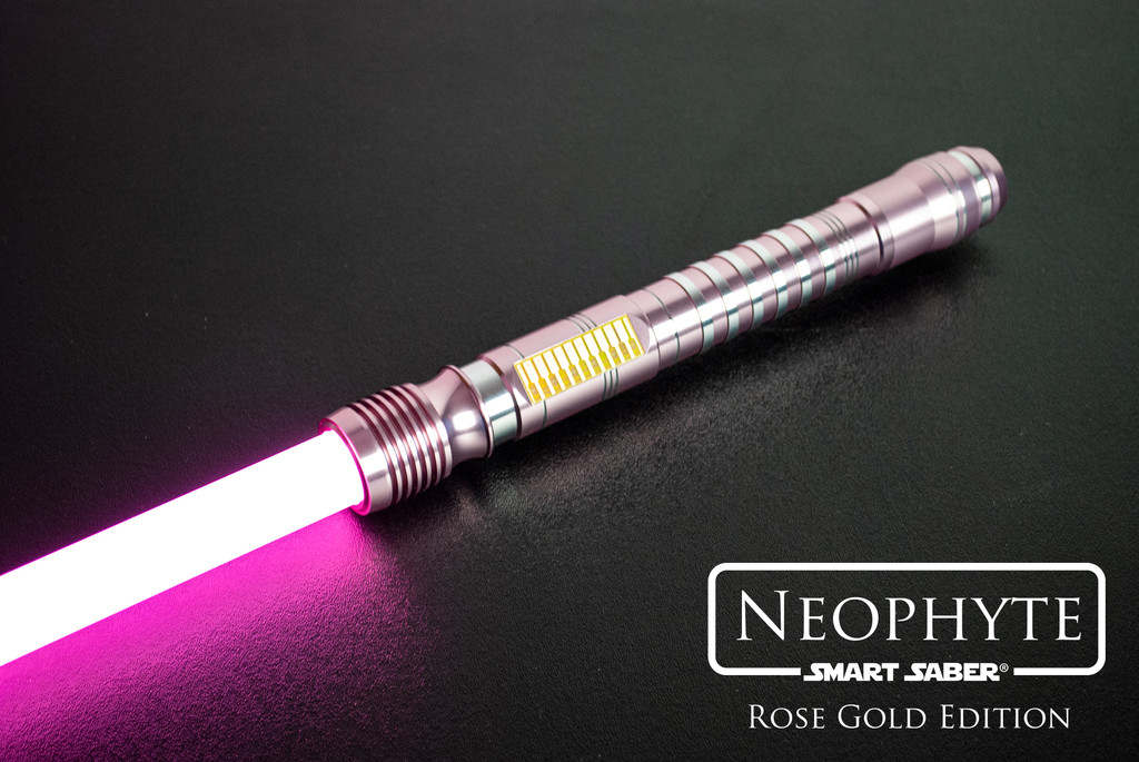 Rose Gold Neophyte with Trans-Amber Gold Standard Switch