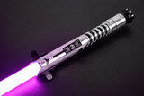 Pristine black Allegiant Smart Saber® with black Order of Light switch