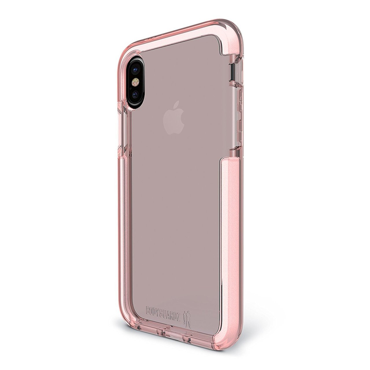 d2f4a4c2a7 BodyGuardz Ace Pro Unequal Case for iPhone X/Xs - Pink/White
