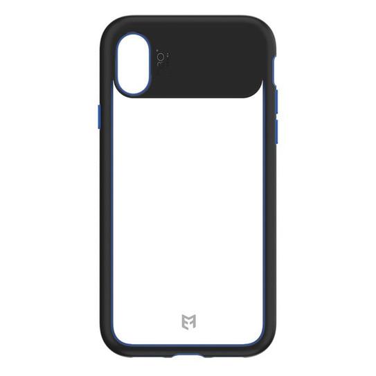 check out d6cb6 deb1a EFM Aspen D3O Case Armour iPhone X - Crystal/Black Blue