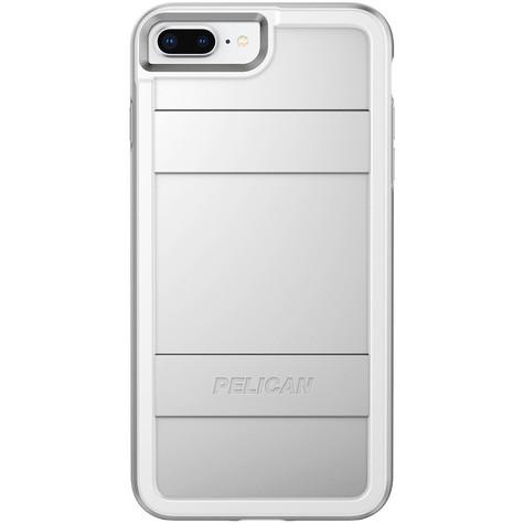 half off 3eddc 0c373 Pelican PROTECTOR Case iPhone 8+/7+/6+/6S+ Plus - Metallic Silver/Silver