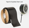 Tape for Guardian Drain Lock to replace missing bands