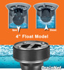 """4"""" Float Model Flood Guard - check valve technology to seal off sewer water backing up in your floor drains"""