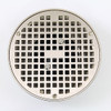 Drain Lock Cross Strainer for floor drains