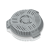 Outdoor Stairwell Drain Cover and Filter - Prevents Clogs and Flooded Basements from Yard Waste