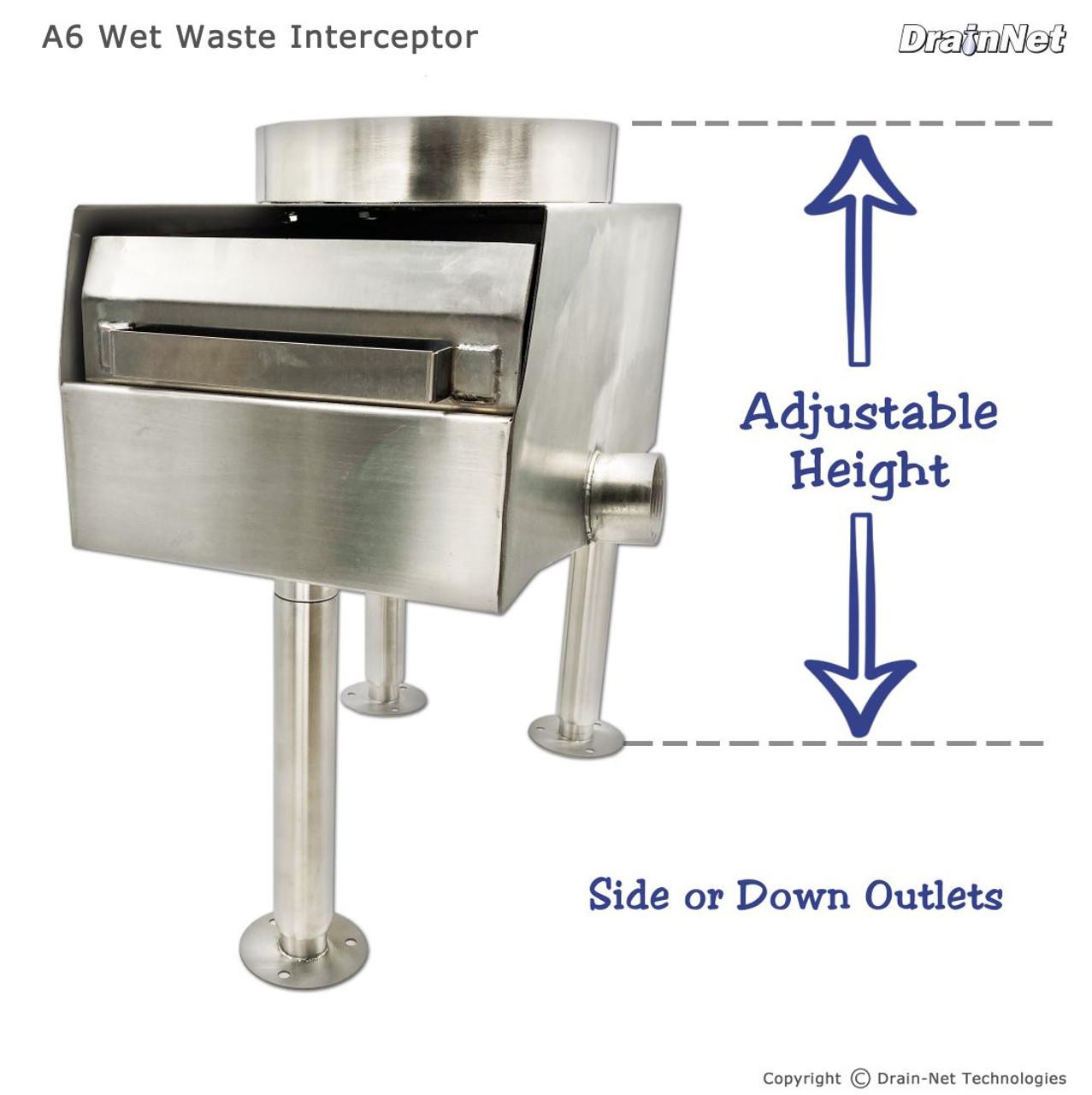 A6 Wet Waste Interceptor